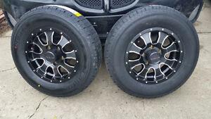 B/New Custom Raceline Mags On B/New ST175/80R-13 Trailer Tires