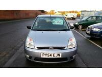 FORD FIESTA GHIA 5 DOOR 1 OWNER MET BLUE DEC 2017 MOT ONLY £10 WEEK P/LOAN 2004