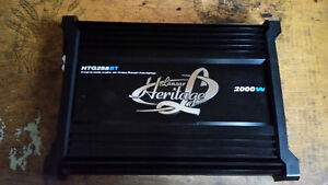 Brand new lanzar 2000w amp with wireless bluetooth audio interfa