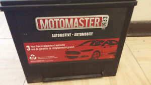 Motomaster Battery only four months old