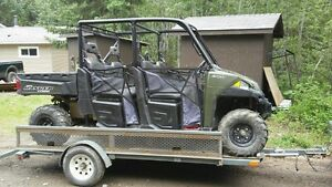 Polaris Ranger Crew 900 XP & 6'x12' Trailer
