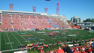 CALGARY STAMPEDERS - SECTION I, ROW 30, ISLE SEATS