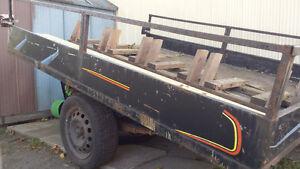 trailer pour 4 route ski door motor cross West Island Greater Montréal image 1