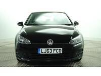 2013 Volkswagen Golf S TDI BLUEMOTION TECHNOLOGY Diesel black Manual