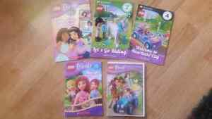 Lego Friends books and DVD