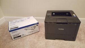 Brother HL-L5200DW Laser Printer & TN820 Black Toner Cartridge