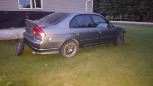 Civic si parts car