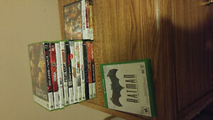 Xbox one/360/DS Games