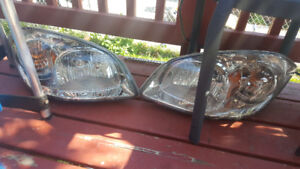 Brand new head lights ....fits 05 to 2010 cobalt or g5