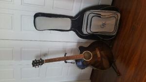 Guitare gk + sac de transport + stand