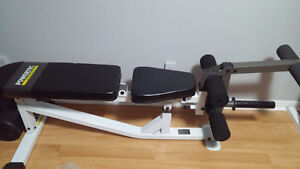 High end Powertec Olympic Adjustable Weight Bench