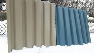 17 PCS OF ROOFING METAL SHEETS 3x3