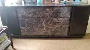 Dresser solid wood $ 75 obo very good condition.