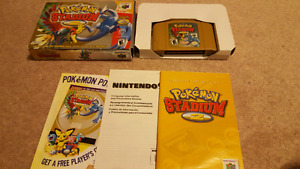 Pokemon Stadium 2 Complete in box with manuals