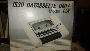 Rare  Commadore 1530 datassette unit in box