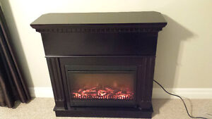 For sale: electric fireplace