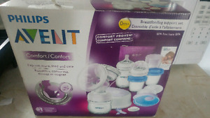 Avent breast pump and kit
