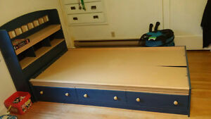 Single Bed with drawers Peterborough Peterborough Area image 1