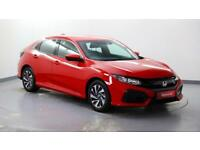 2017 Honda Civic 1.0 VTEC TURBO SE Petrol red Manual