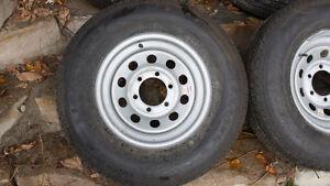 pneus roulotte