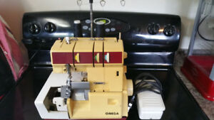 Omega Serger machine Model #15J103