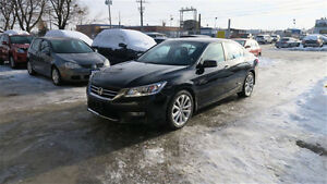 2013 Honda Accord Touring Sedan nav\camera\heated\seats\certifie