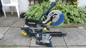 Mastercraft Mitre Saw 10 Inch Dual Bevel Sliding