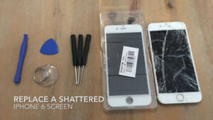 IPHONE SCREEN REPAIRS DONE ON THE SPOT