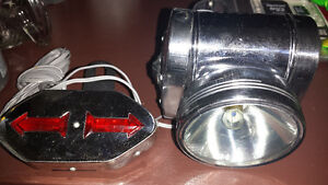 Vintage Bike light and turn signal in one.Made in Japan