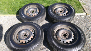 195 75 R14 winter studded tires