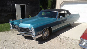 1968 Cadillac Convertible ☆ FALL SPECIAL ☆ REDUCED TO $10,500.00