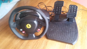 Steering wheel set for XBOX 360