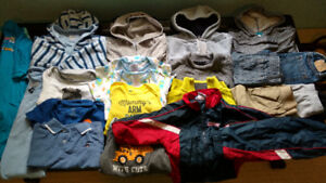 Boy's Winter/Fall clothes lot 12-24 month
