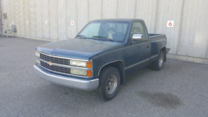 1992 Chevrolet Scottsdale shortbox stepside