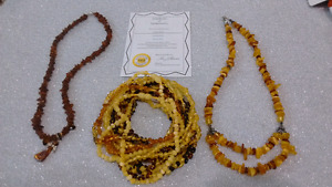Certified Baltic Amber Jewelry