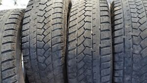 "Set of 4-195/65/15"" Winter tires/Also (1) Goodyear WinterTire"
