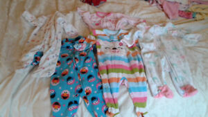 More than 30 items of  3 mo/6 mo baby girl clothes for winter