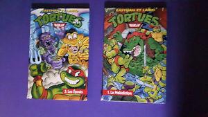 BD Tortue Ninja # 1 et # 3