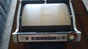 T-Fal OptiGrill Stainless Steel Indoor Electric Grill