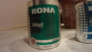 Alkyd paint (for the Garage or Entry doors) from Rona for sale