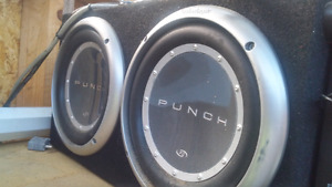 Subs and amp $300