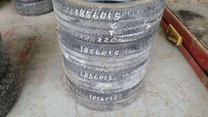 Set of 4 Firestone FR710 185/60R15 tires (60% tread life)