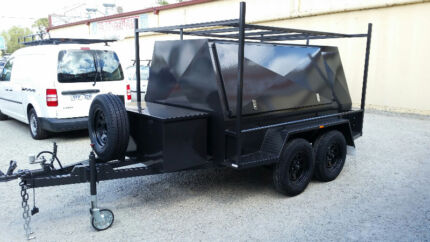 FROM ONLY $35 P/WEEK ON FINANCE* 8x5 BUILDERS TANDEM TRAILER