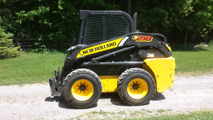 Newholland L 218 Skidsteer/Attachments