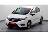 2017 Honda Jazz 1.3 i-VTEC EX Petrol white Manual