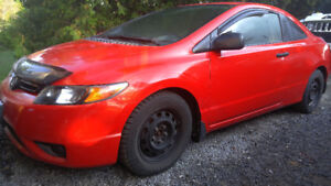 Honda Civic Coupe Certified low km