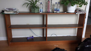 Variety of Solid wood & laminate shelving & storage items