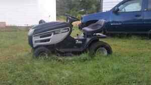 01 17.5hp lawn tractor
