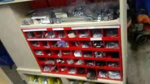 Linear Slides, Ball Screws, T-Slot Alu, All made in Japan, Germ.