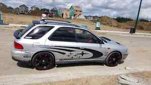 Subaru wrx imprezza 2.0 turbo R/HD bran new rims coilovers